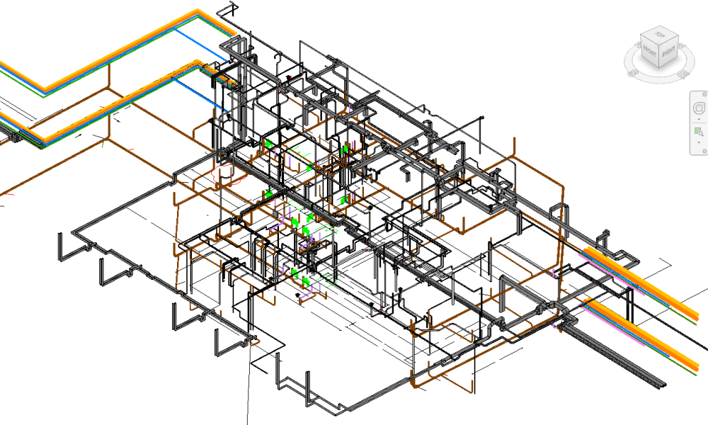 Engineering 3D Revit MEP Drafting Services Revit Drafting