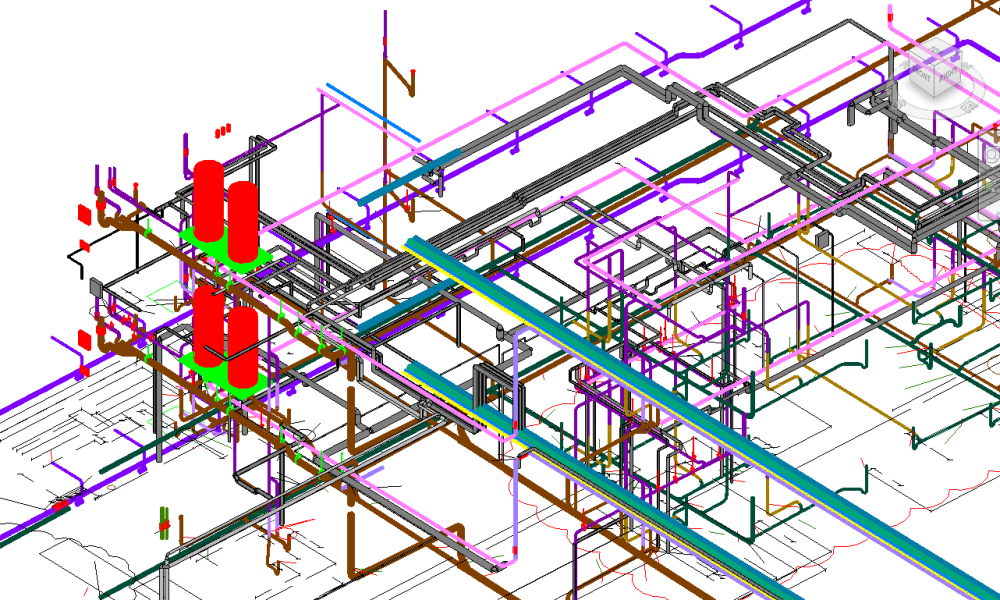 Engineering 3D Revit MEP Drafting Services