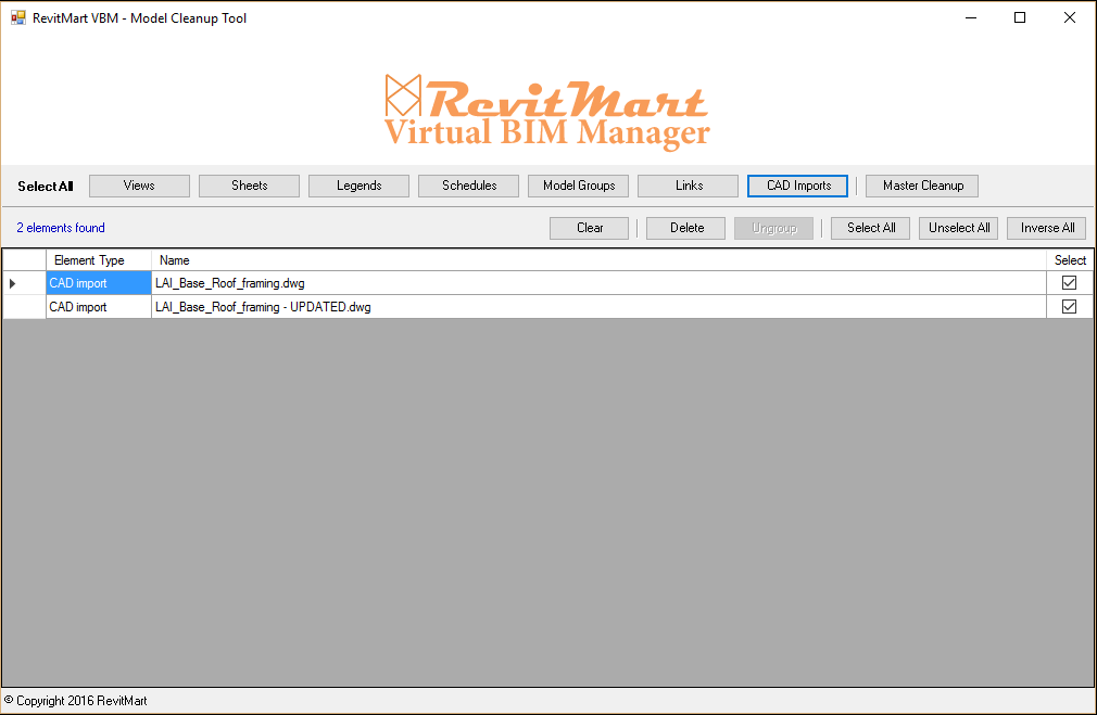 RevitMart Virtual BIM Manager